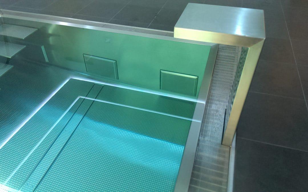 RVS zwembad wellness ruimte, Oldenzaal